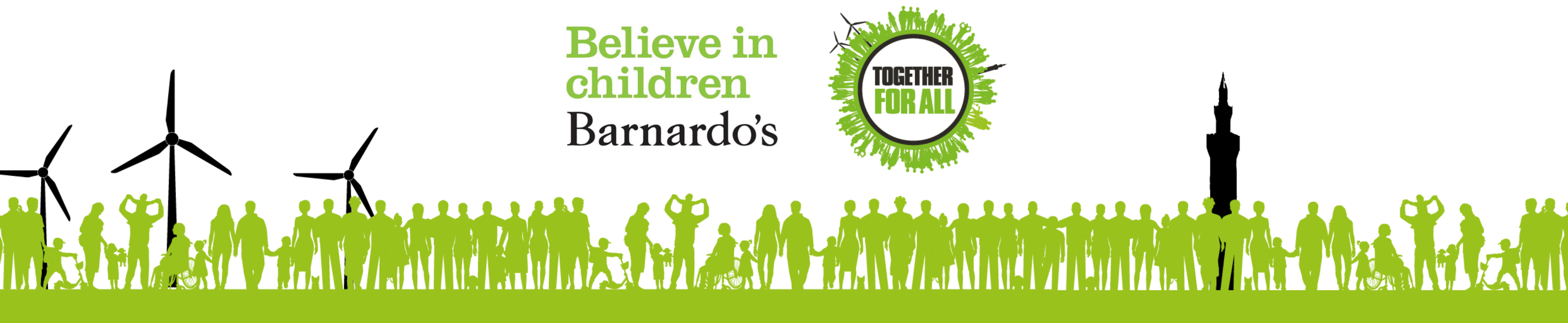 Barnardo's believe in children logo
